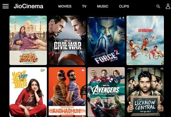 Jio Cinema - Watch Bollywood Movies, Music Videos, TV Shows Online