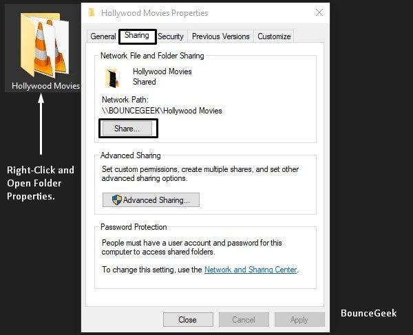 Share Windows Folders on iPhone and iPad