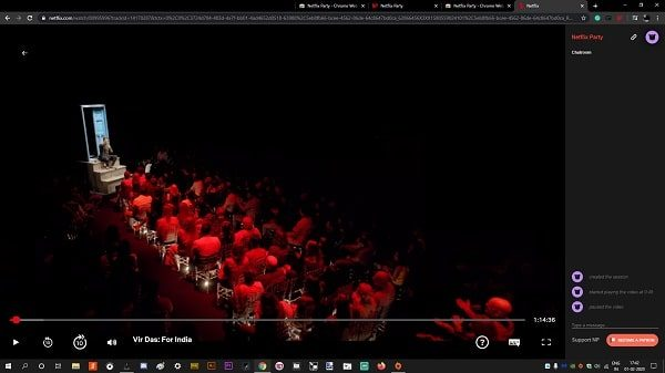 Netflix Party in Chrome - Watch Together with Friends