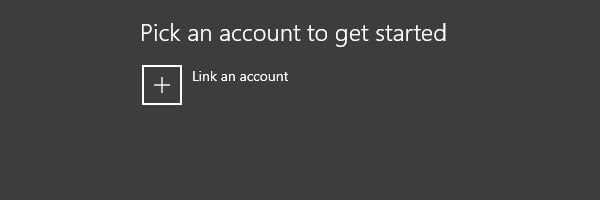 Pick an account for Windows Insider