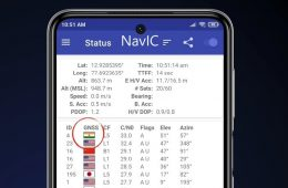 Check NavIC Support in Smartphone