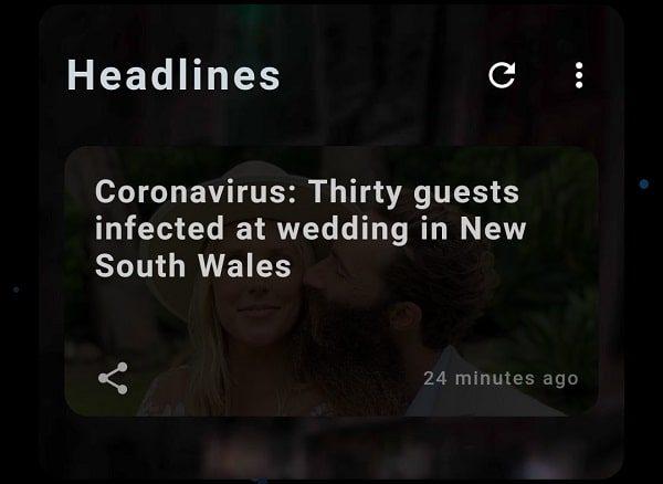 Coronavirus Headline