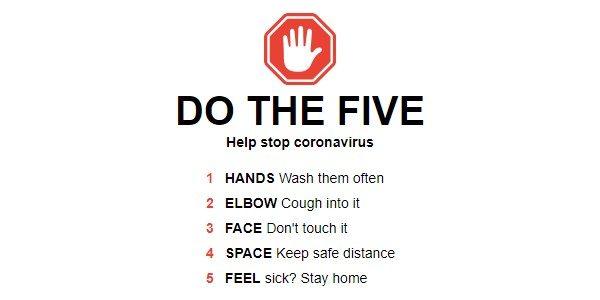 Coronavirus - Stay Safe