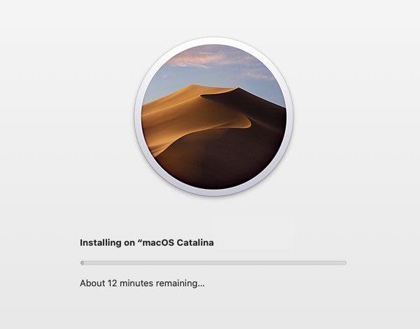 Install macOS 10.15 on VMware on Windows PC - Installation