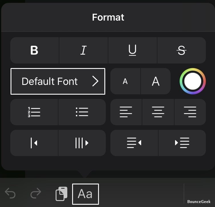 Font Manager - Default Fonts - iOS