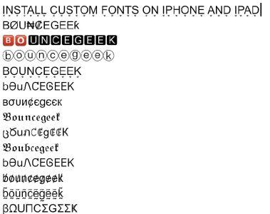 Install Custom Fonts on iPhone and iPad - iOS, iPad OS 13