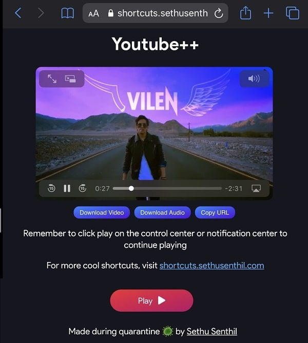 Play YouTube++ - Play YouTube Video in Background