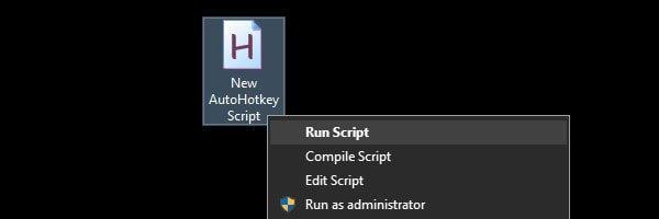 Run Script for Volume Control
