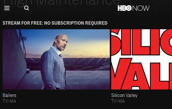 Stream HBO for Free No subscription required outside US