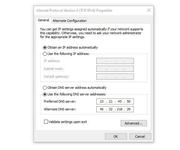Use Proxy DNS Server