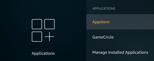 Appstore settings firestick