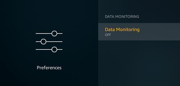 Data Monitoring Off
