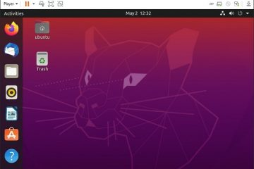 Install Ubuntu 20.04 LTS on VMware