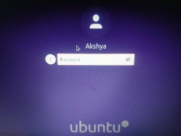 Login into Dual Boot Ubuntu 20.04 LTS with Windows 10