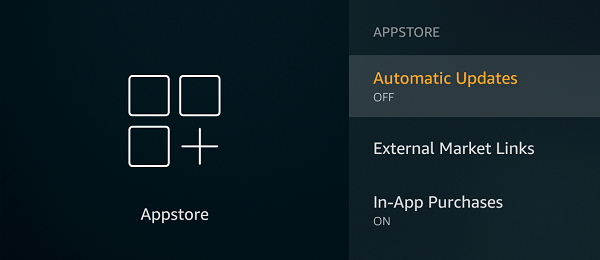 Turn off Automatic Updates - Fire Stick
