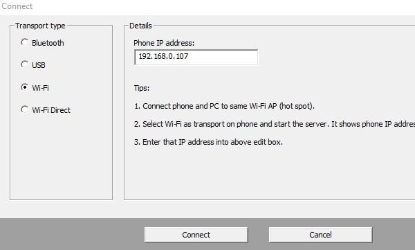 use Android Phone as Wireless Mic