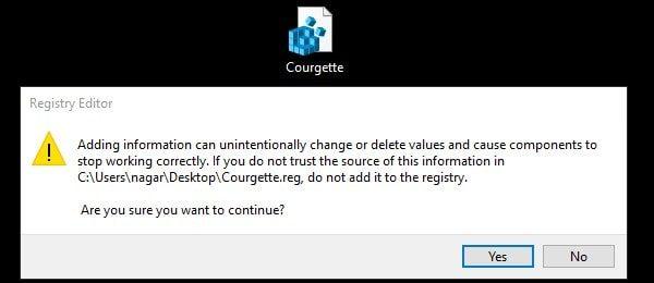 Font Registry Confirmation