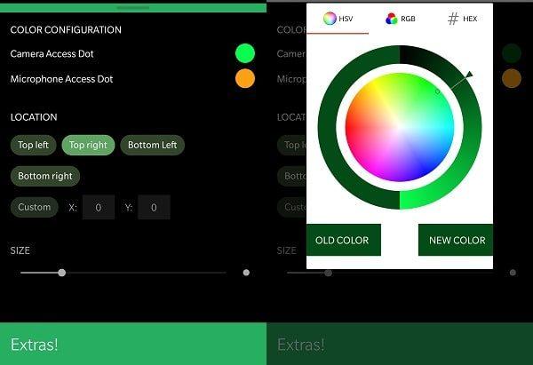 Access Dots - Custom Color