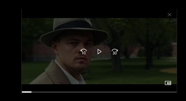 Films & TV App - Picture in Picture Mode
