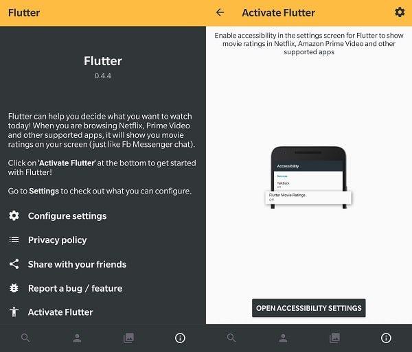 Open Accessibility Settings - Flutter App