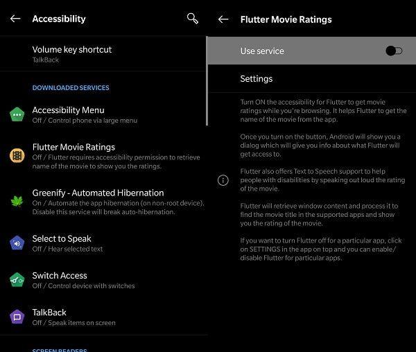 Use Service - Flutter App