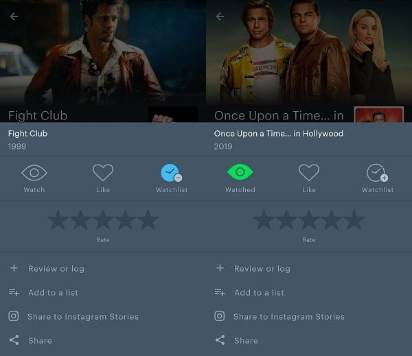 Letterboxd - Movie Tracker App