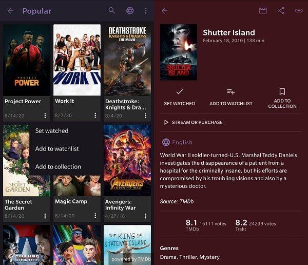 SeriesGuide - Movie Tracker Apps