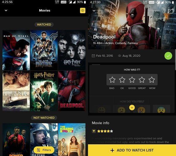 TV Time - Movie Tracker App