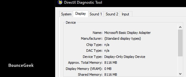 NVIDIA Display settings are not available - Microsoft Basic Display Adapter