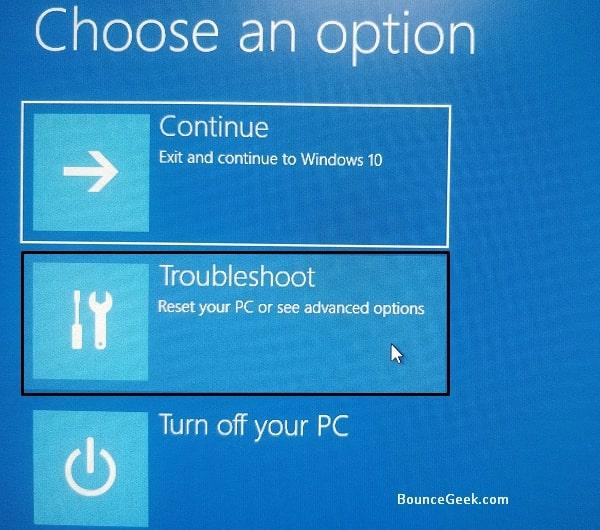 Troubleshoot Windows