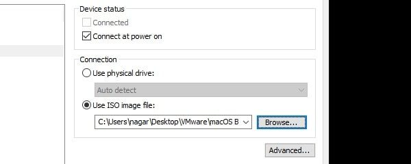 Use ISO Image File
