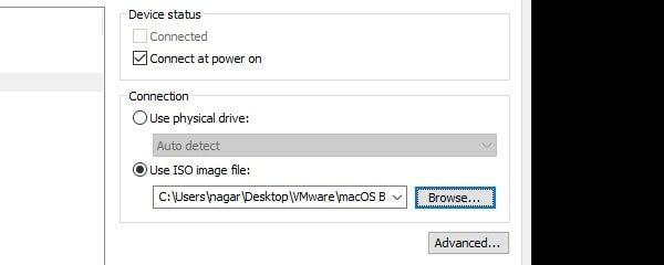 Use ISO Image File