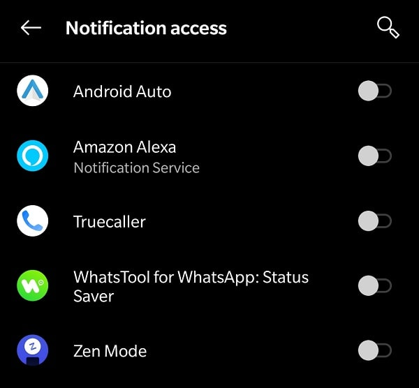 Allow Notification Access - WhatsTool for WhatsApp