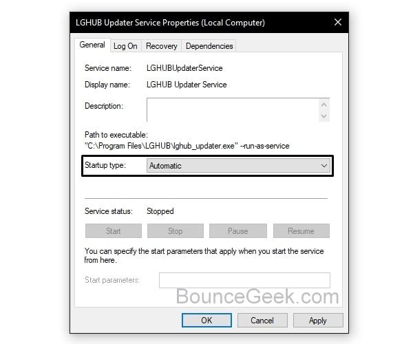 Logitech G HUB stuck on loading screen - LGHUB Updater Automatic