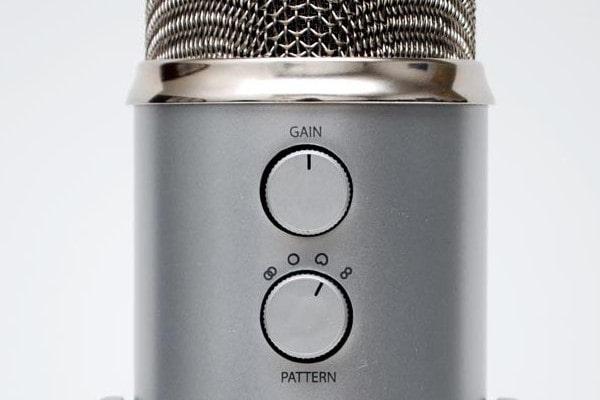 Microphone Gain Control Knob