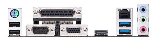 Audio and USB Port
