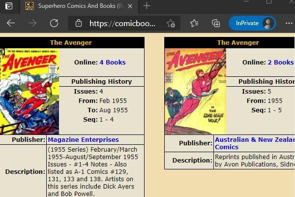 Comic Book Plus - Hello Comic Alternatives