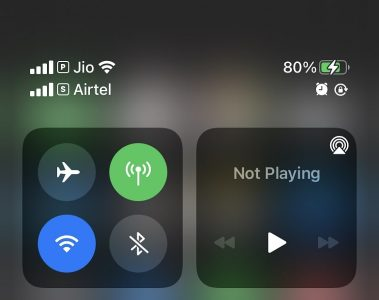 iPhone stops charging at 80% battery