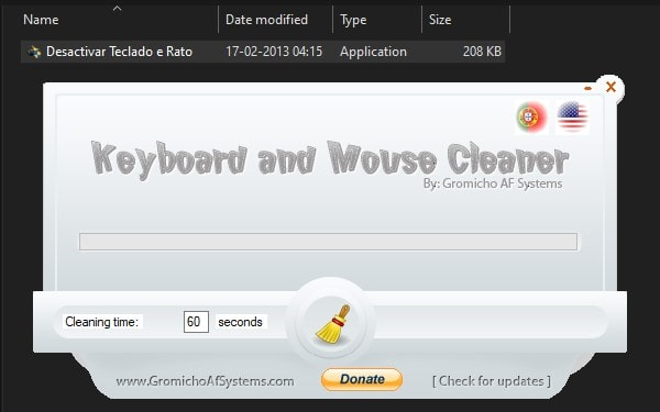 Use Keyboard and Mouse Cleaner App to Disable Laptop Keyboard and Mouse