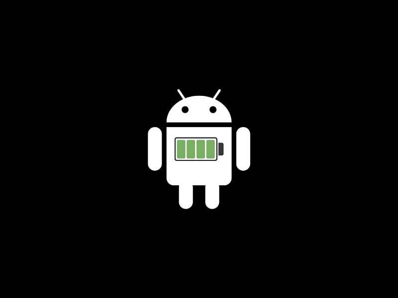 Android OS Smartphone Battery Drain
